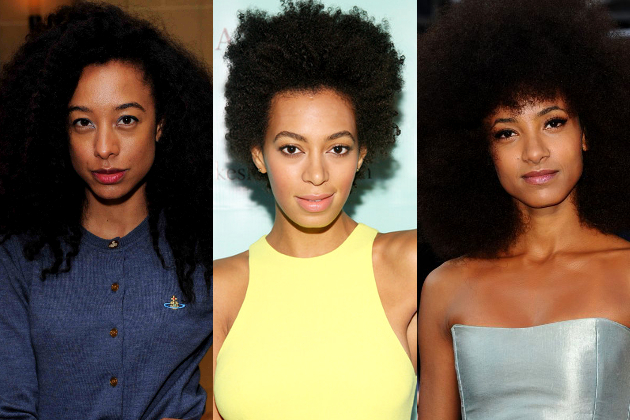 Celebrities with Beautiful, Natural Hair