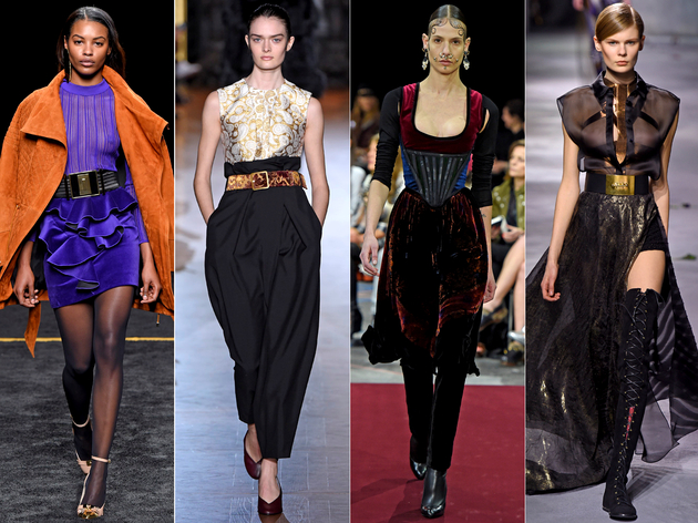 Belts And Waist Detailing Fall 2015 Trends Paris Fashion Week