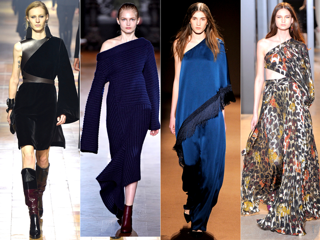 Asymmetry Fall 2015 Trends Paris Fashion Week