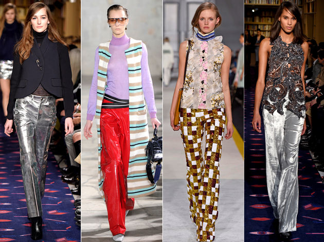 Fancy Pants Fall 2015 Trends Paris Fashion Week