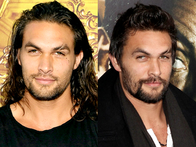 Jason Momoa Long Hair And Short