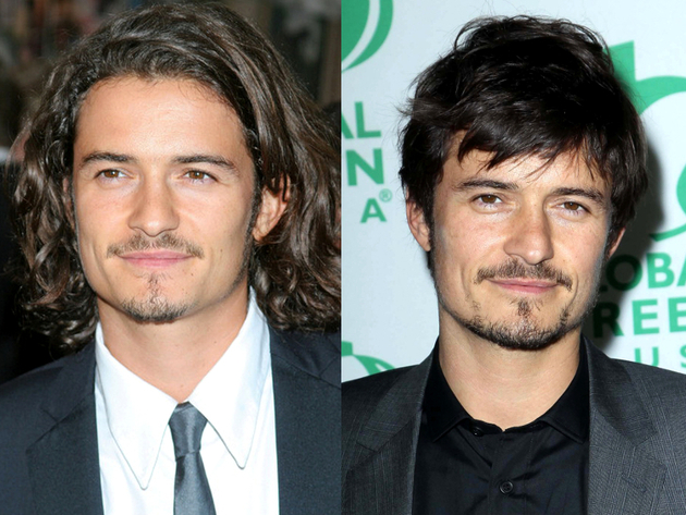 Orlando Bloom Long Hair And Short