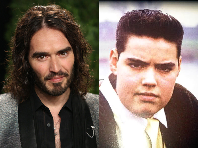 Russell Brand Long Hair And Short