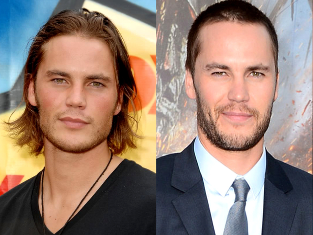 Taylor Kitsch Long Hair And Short