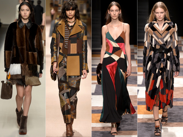 Patchwork Fall 2015 Trends Milan Fashion Week