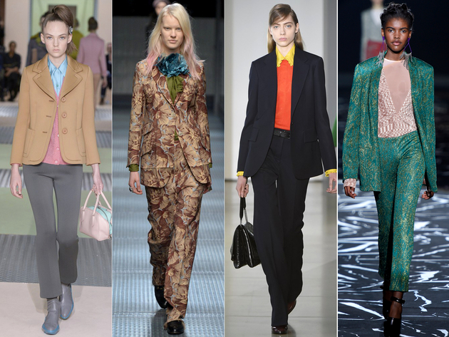 Suits Fall 2015 Trends Milan Fashion Week