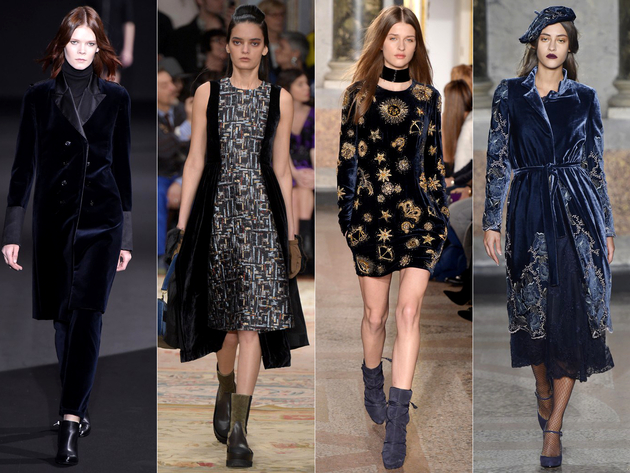 Velvet Fall 2015 Trends Milan Fashion Week