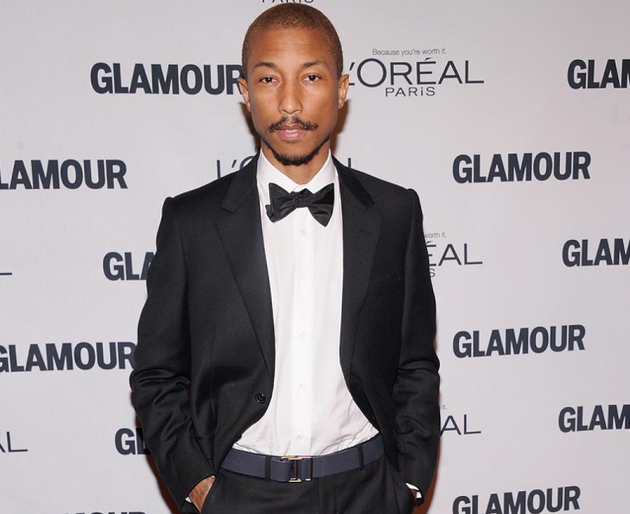 Pharrell 2012 Glamour Women Of The Year Awards
