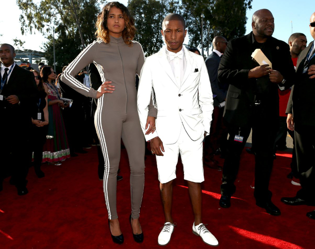 Pharrell 2015 Grammy Awards