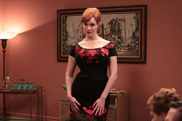 Mad Men Joan Accordion Dress