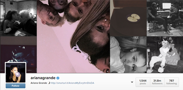 Ariana Grande Bought Instagram Followers