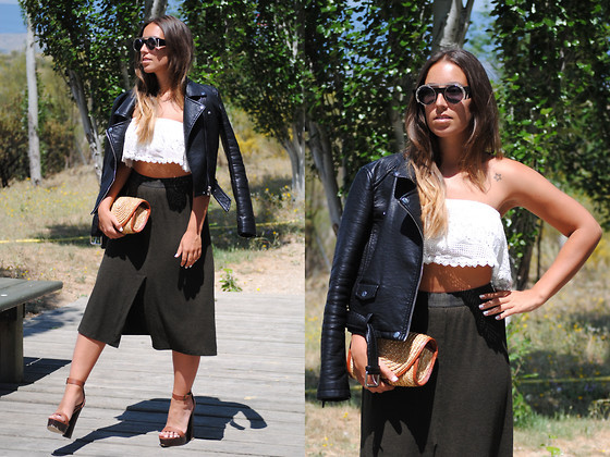 Midi Skirt With Crop Top