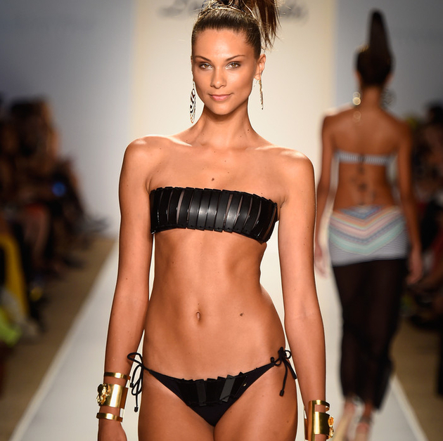Leather Bikini Trends Summer 2015