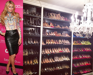 While the average woman owns 20 pairs of shoes, some celebrities have insanely large shoe collections. Find out which stars literally have thousands of shoes.