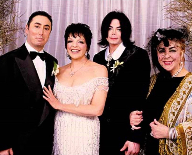 Liza Minnelli And David Gest Wedding