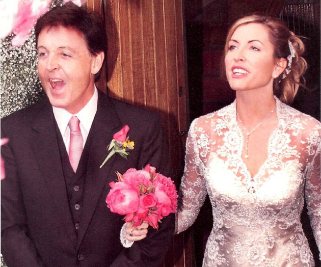 Paul Mc Cartney And Heather Mills Wedding