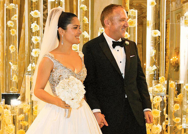 Salma Hayek And Francois Henri Pinault Wedding