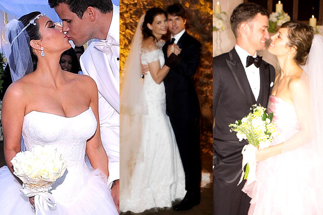 Most Expensive Celebrity Weddings Extravagant Parties
