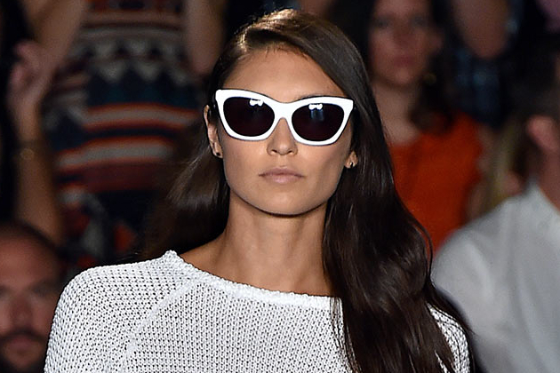 White Frame Sunglasses 2015