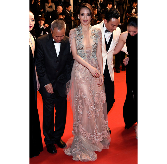 Shu Qi Cannes 2015 Best Dressed