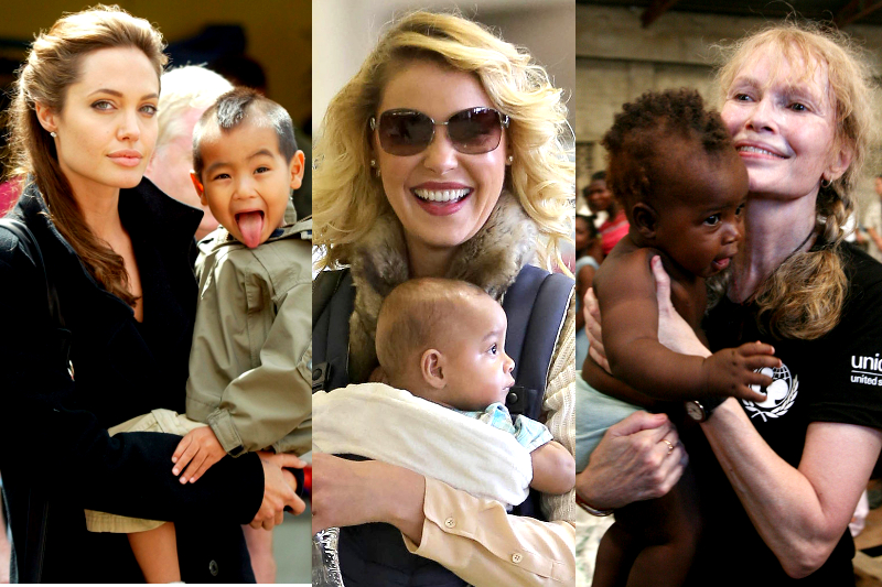 Celebrities Who Adopted Internationally