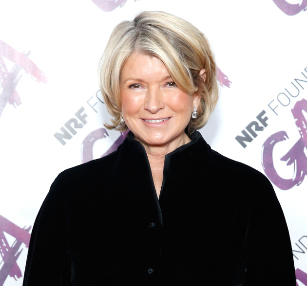 Martha Stewart Drinking Water