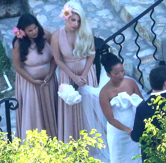 Lady Gaga Bridesmaid