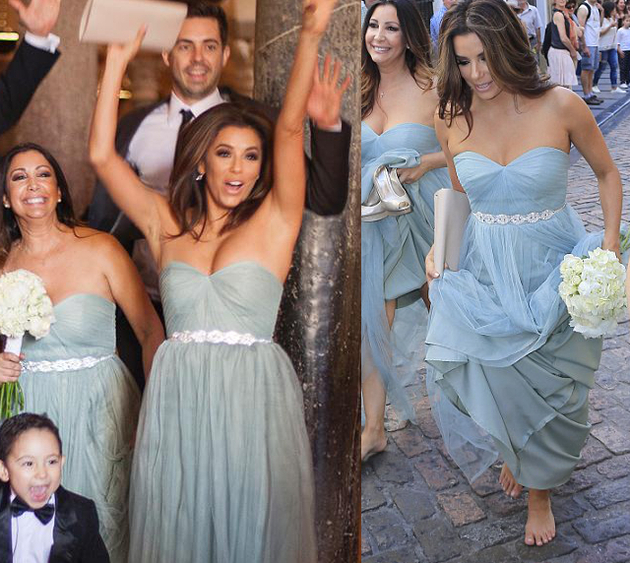 Eva Longoria Bridesmaid