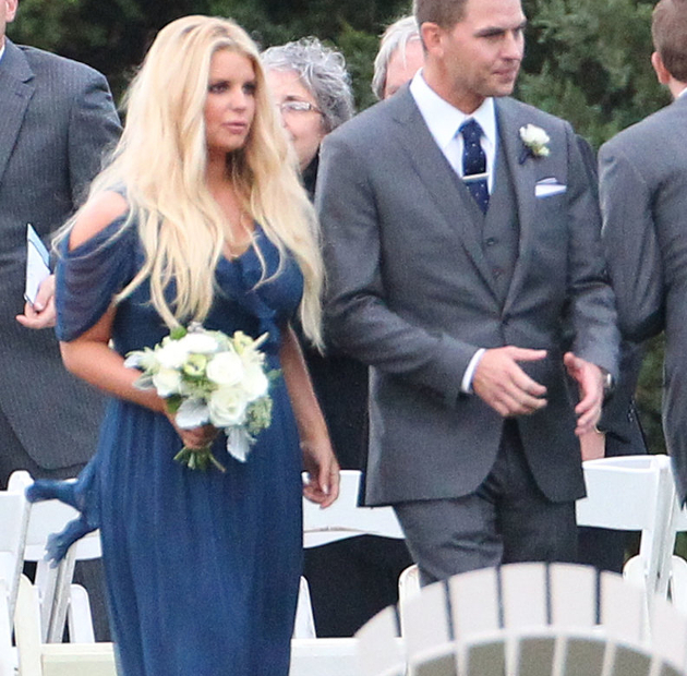 Jessica Simpson Bridesmaid