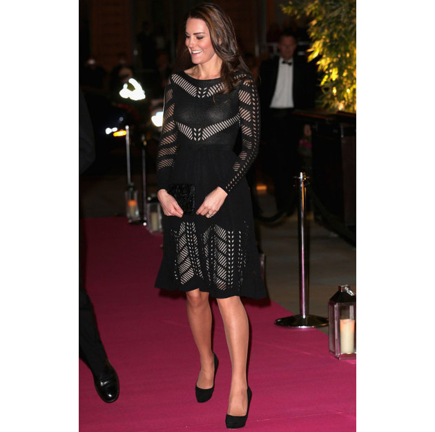 Kate Middleton Action On Addiction Autumn Gala