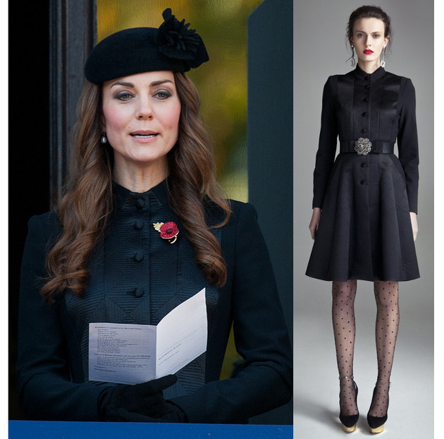 Kate Middleton Remembrance Sunday