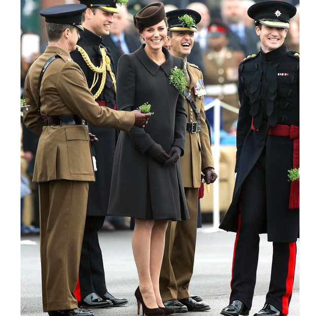 Kate Middleton St Patricks Outfit