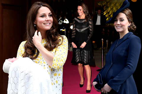 Kate Middleton's Best Pregnancy Style with Princess Charlotte