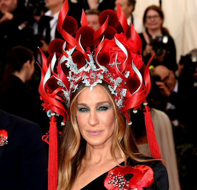 Sarah Jessica Parker Met Gala 2015 Hair And Makeup