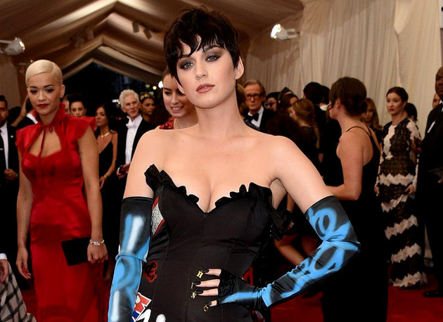 Katy Perry Met Gala 2015 Hair And Makeup