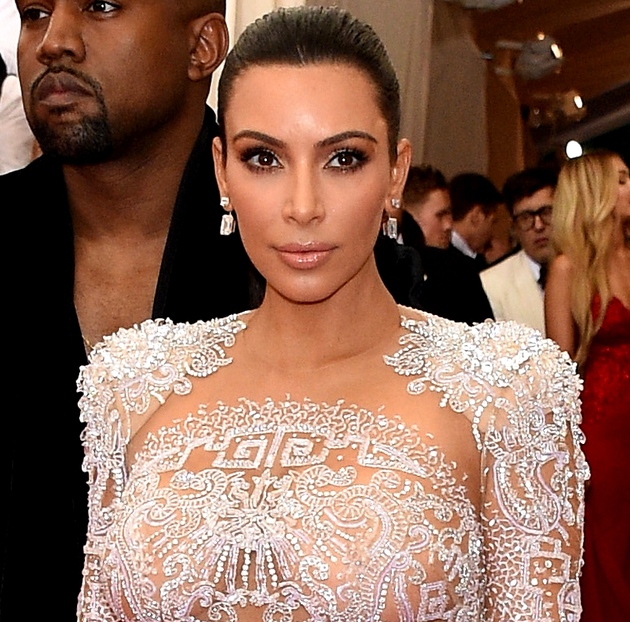 Kim Kardashian Met Gala 2015 Hair And Makeup