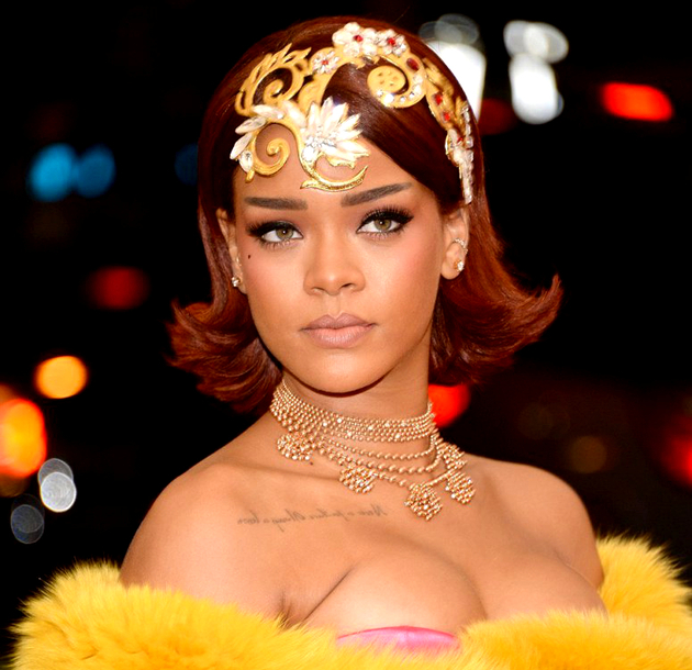 Rihanna Met Gala 2015 Hair And Makeup