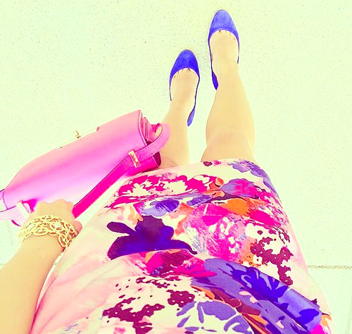 Colorful Prints Wedding Guest