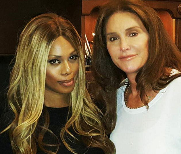 Caitlyn Jenner Laverne Cox