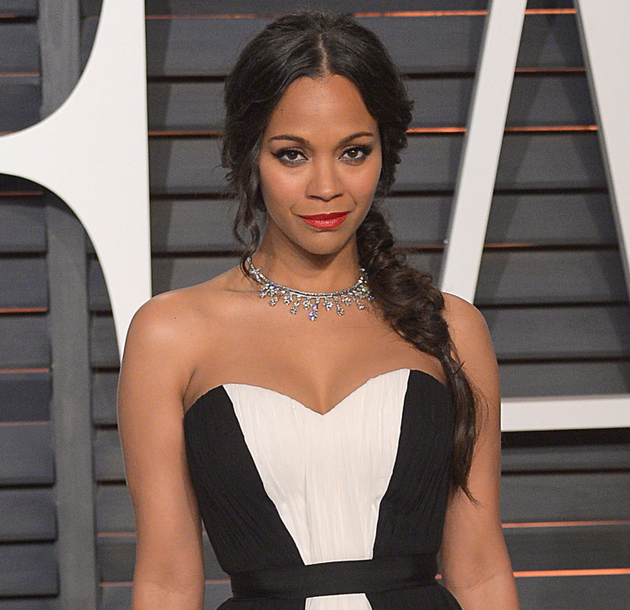 Zoe Saldana Doesnt Consider Herself Black