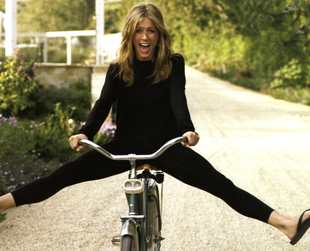 They can afford the most expensive cars, but many celebrities prefer the humble bicycle, for transport or exercise. Find out which stars are into cycling.