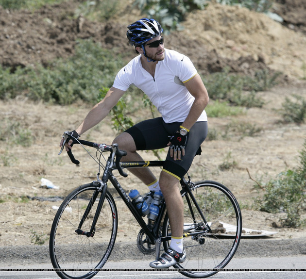 Jake Gyllenhaal Bicycle