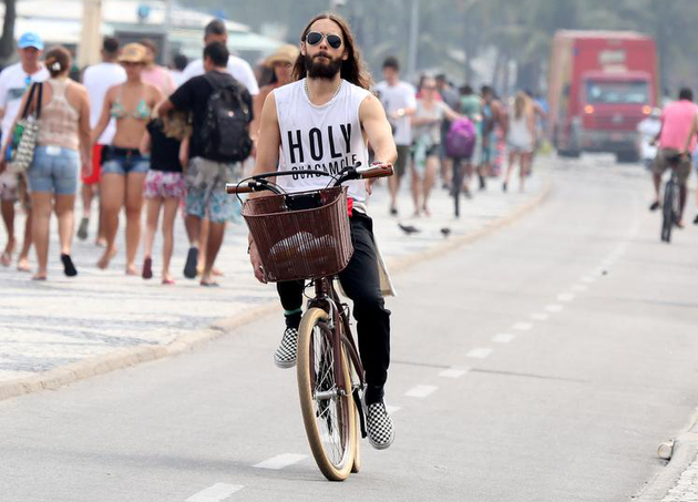Jared Leto Bicycle