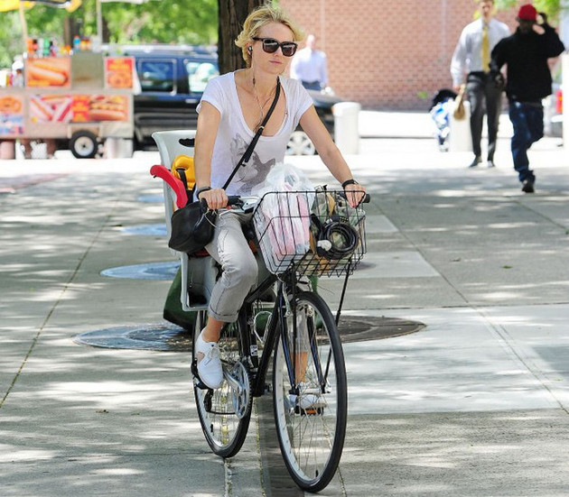 Naomi Watts Bicycle