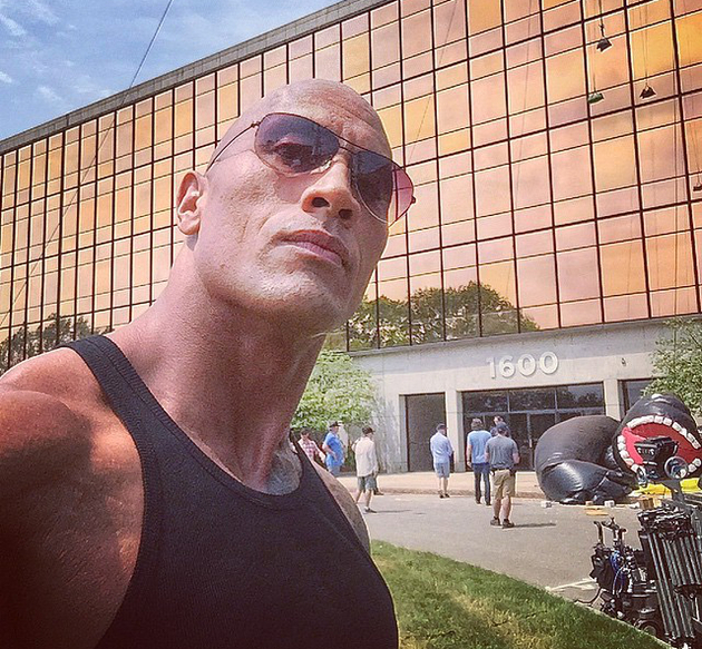 The Rock Selfie Obsessed