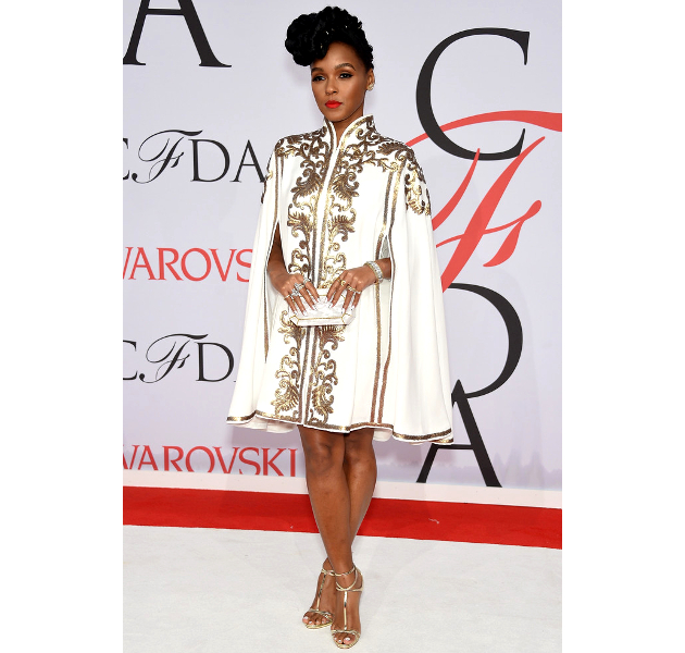 Janelle Monae 2015 Cfda Fashion Awards