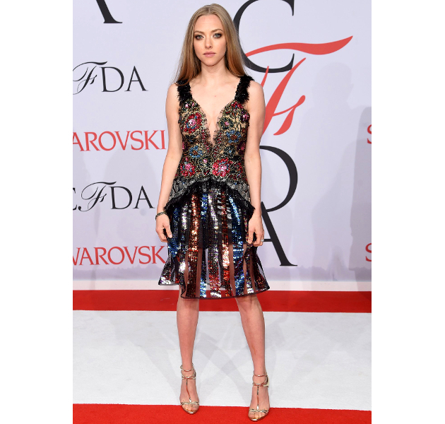 Amanda Seyfried Cfda 2015 Awards