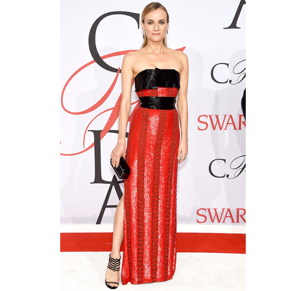 Diane Kruger Cfda 2015 Awards