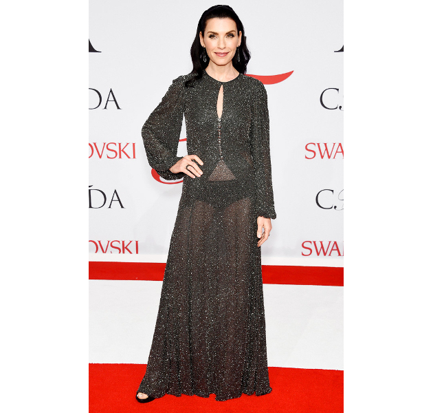 Julianna Margulies Cfda 2015 Awards