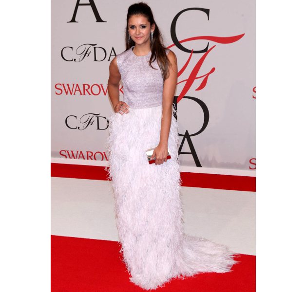 Nina Dobrev Cfda 2015 Awards
